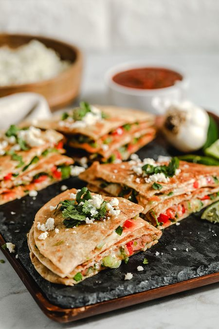 Easy Recipes for Kids to Make - Veggie Quesadillas