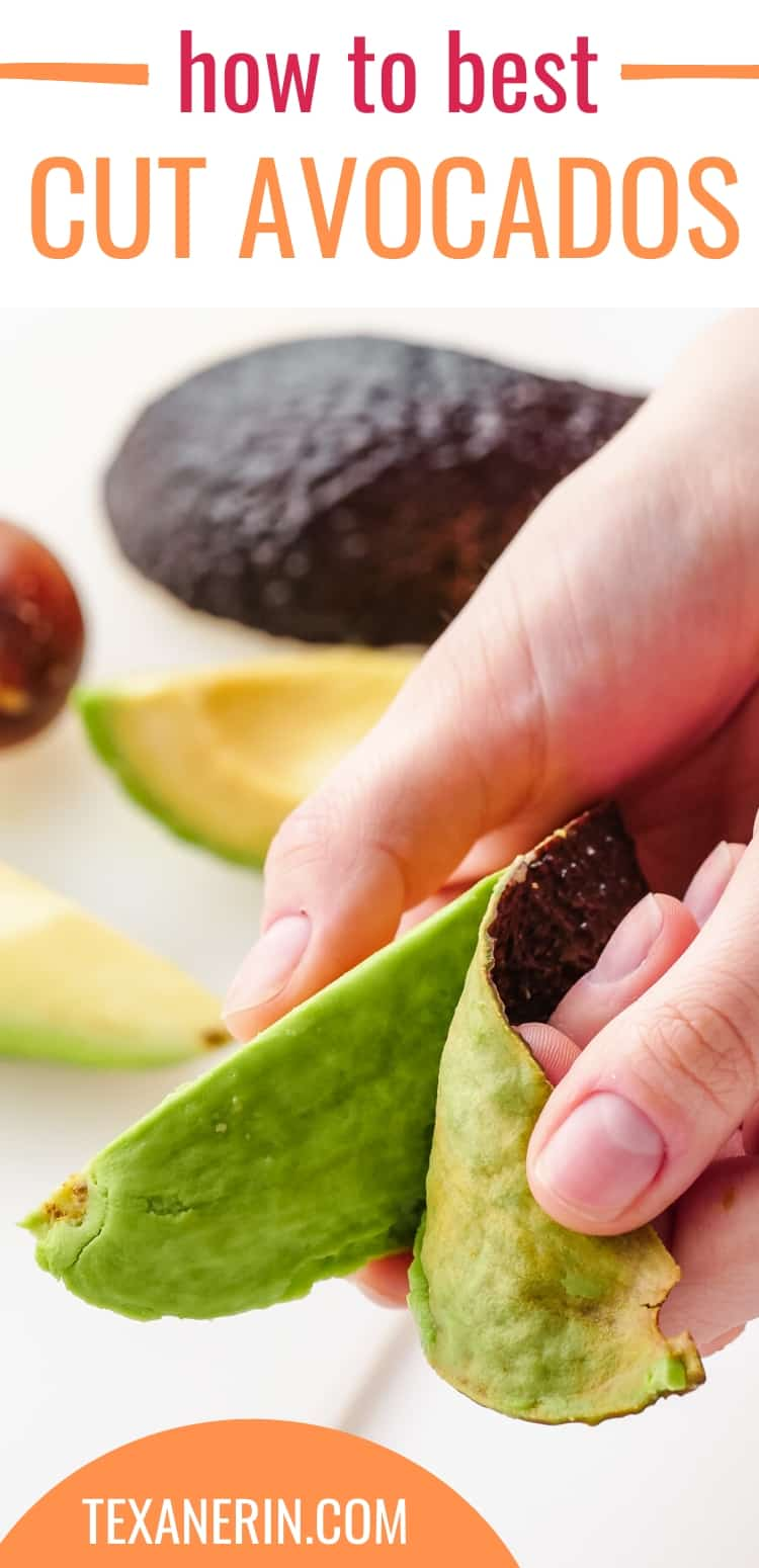 How to Cut Avocados. The Ultimate Avocado Guide - from how to pick an avocado, how to cut avocados, how to store avocados and how to use avocados.