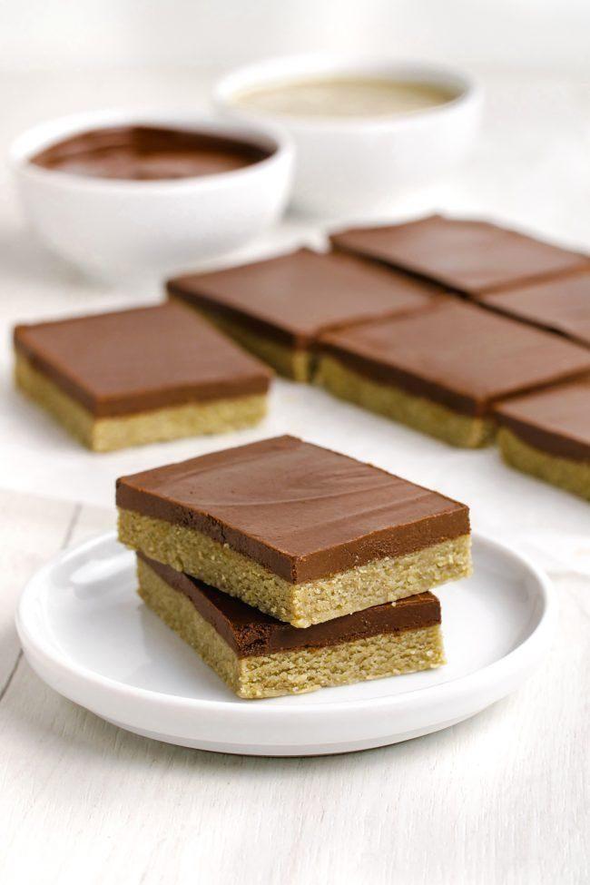Paleo Desserts - Paleo Peanut Butter Bars