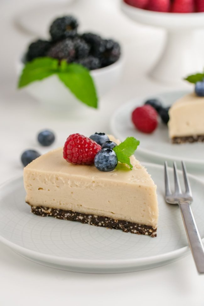 Paleo Desserts - Vegan Cheesecake Recipe