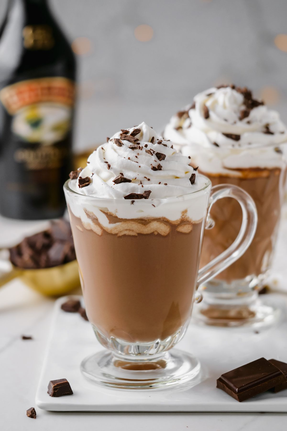 Baileys Hot Chocolate Only 4 Ingredients Texanerin Baking