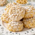 Pignoli Cookies – With or Without Almond Paste!