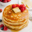 Pancakes without Milk (of any kind)