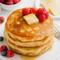 milk-free pancakes