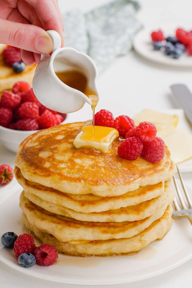 Pancakes Without Milk Of Any Kind Texanerin Baking