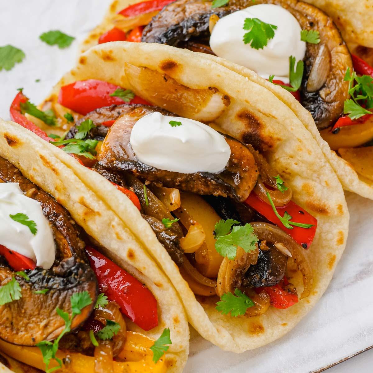 Vegan Fajitas - Texanerin Baking